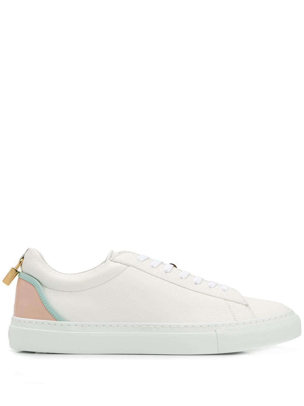 Buscemi Sneakers met contrasterende hak - Wit