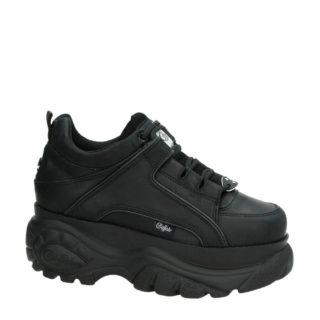 Buffalo leren Chunky Dad sneakers zwart (zwart)