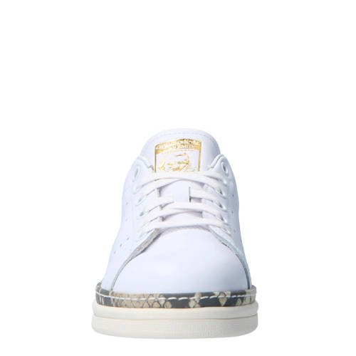 a02724f3e3b adidas originals Stan Smith New Bold W leren sneakers (wit ...