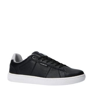 Jack & Jones leren sneaker zwart (zwart)