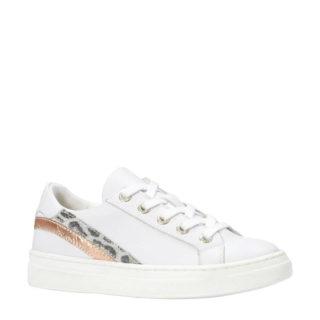 Kanjers leren sneakers (wit)