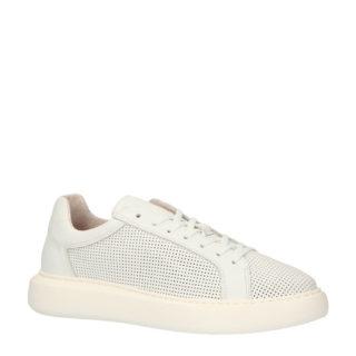 Bianco leren sneakers wit (wit)