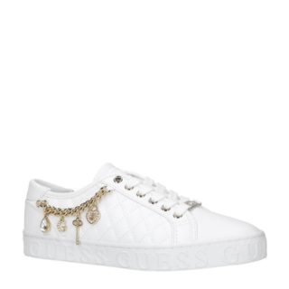 GUESS sneakers wit/goud (wit)