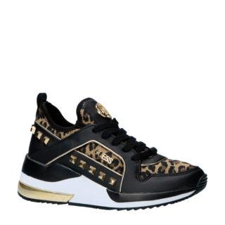 GUESS Julyann sneakers met logo zwart (zwart)
