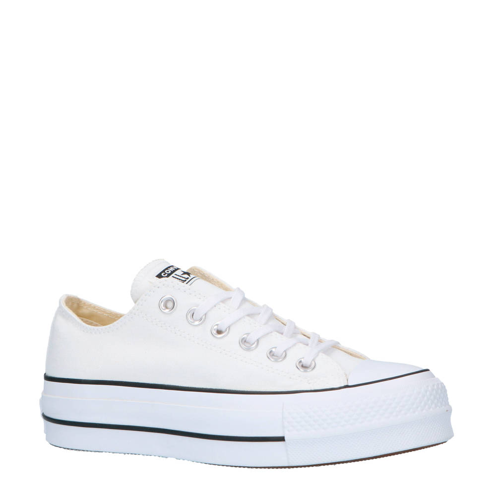 a691391e170 Converse Chuck Taylor All Star Lift OX sneakers wit/zwart (wit ...