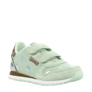Woden Wonder Nora Dot Junior sneakers mintgroen (groen)