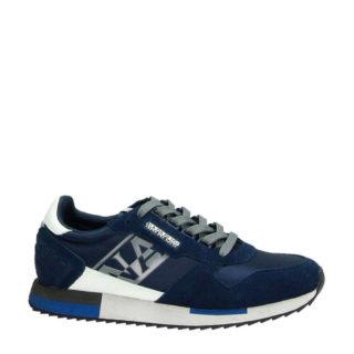 Napapijri NOYJQN suède sneakers blauw (blauw)