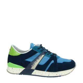 Napapijri Rebut suède sneakers blauw (blauw)