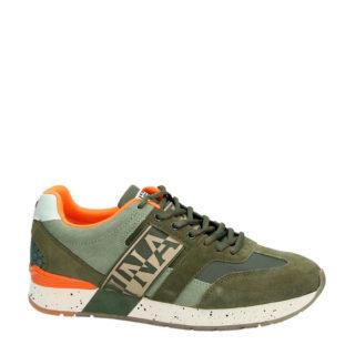 Napapijri suède sneakers groen (groen)