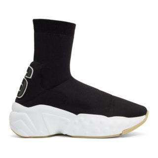 Acne Studios Black Knitted Sock Sneakers