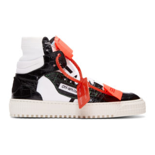 Off-White Black and White Low 3.0 Sneakers