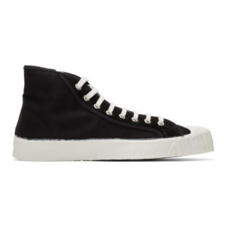Spalwart Black Special Mid Twill WS Sneakers