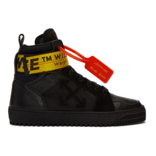 Off-White Black Industrial High-Top Sneakers