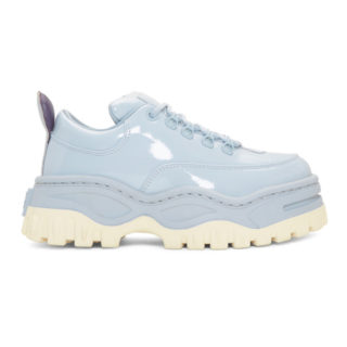 Eytys Blue Patent Angel Sneakers