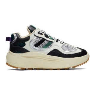 Eytys White and Black Jet Turbo Sneakers