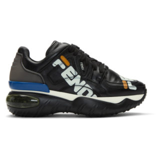 Fendi Black Fendi Mania Sneakers