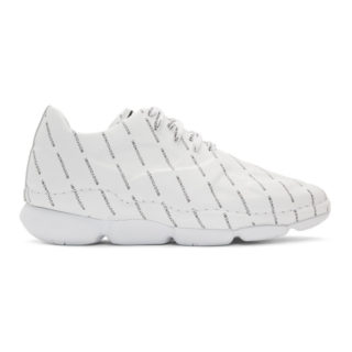 Wooyoungmi White All Over Logo Sneakers