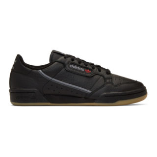 adidas Originals Black Continental 80 Sneakers