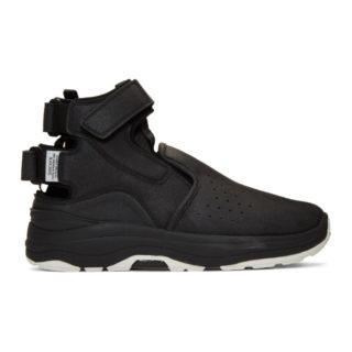 Suicoke Black VIC High-Top Sneakers