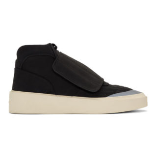 Fear of God Black Skate Mid Sneakers