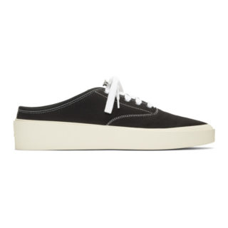 Fear of God Black Backless Sneakers