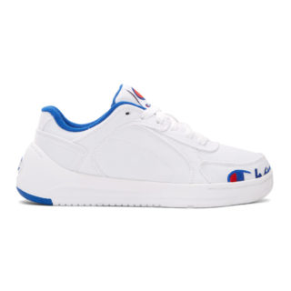 Champion Reverse Weave White Super C Court Low Sneakers