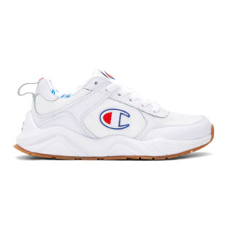 Champion Reverse Weave White 93Eighteen Classic Sneakers