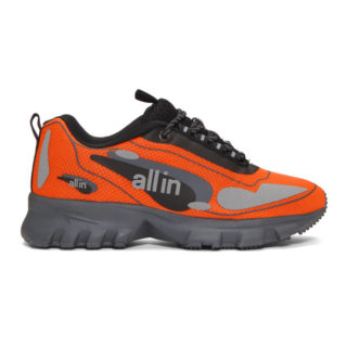 all in SSENSE Exclusive Orange Astro Sneakers