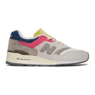 Aime Leon Dore Multicolor New Balance Edition 997 Sneakers
