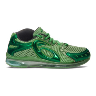 Kiko Kostadinov Green Asics Edition GEL-Sokat Infinity Sneakers