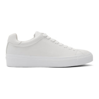 rag and bone White RB1 Low Sneakers