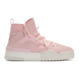 adidas Originals by Alexander Wang Pink B-Ball High-Top Sneakers