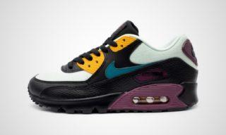 WMNS Air Max 90 (Zwart/lila) Sneaker
