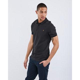 Farah Blaney Short Sleeve Polo zwart (F4KS5050 001)