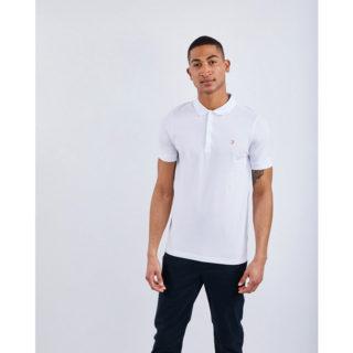 Farah Blaney Short Sleeve Polo wit (F4KS5050 104)