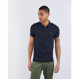 Farah Blaney Short Sleeve Polo blauw (F4KS5050 454)