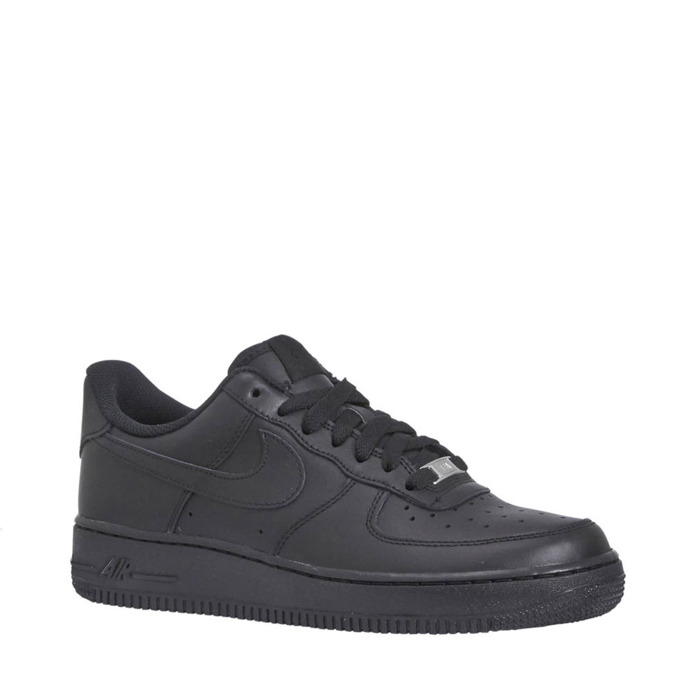 nike air force 1 zwart sale
