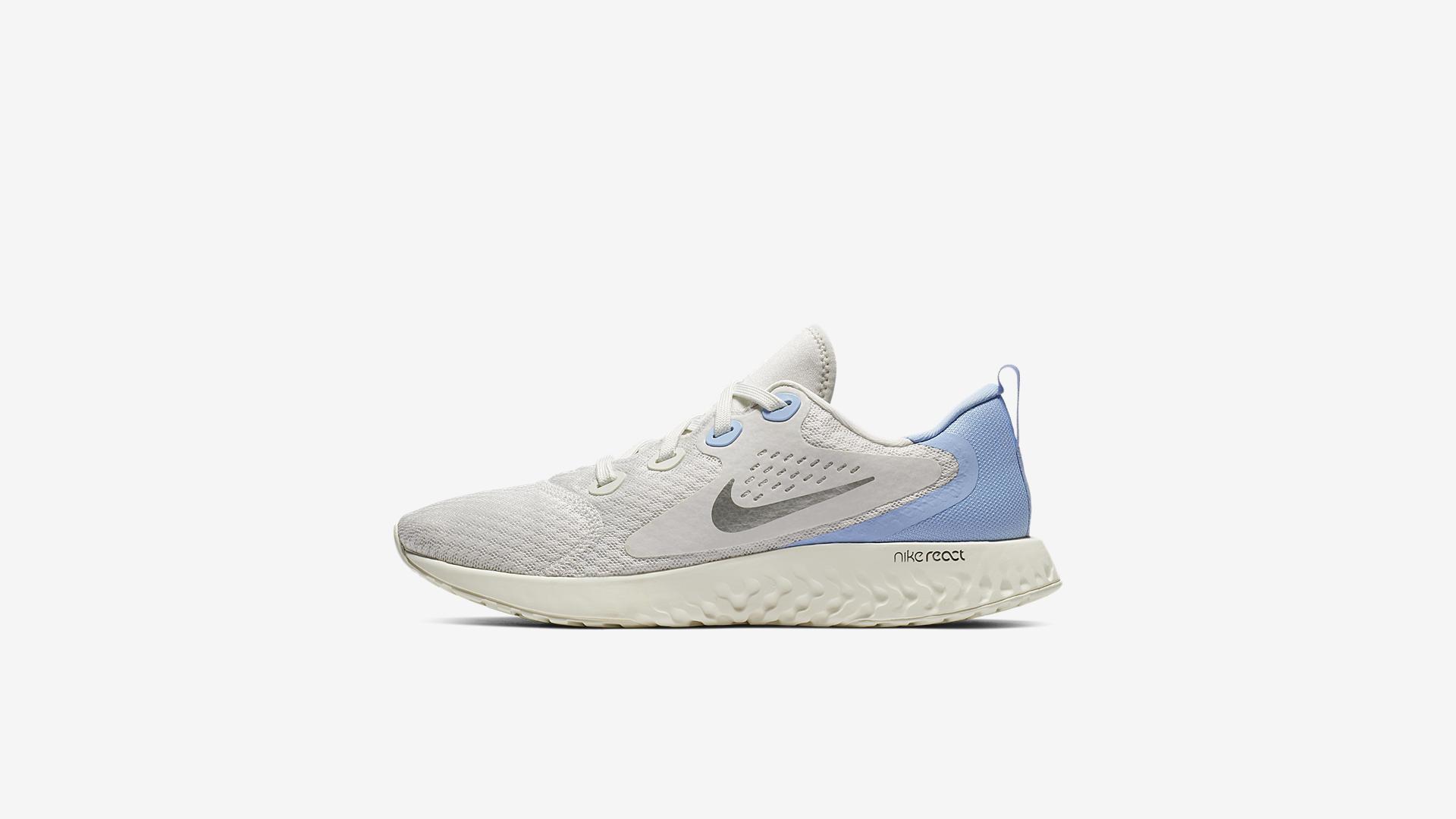 fa4ee999460 Nike Legend React Hardloopschoen voor dames – Zilver