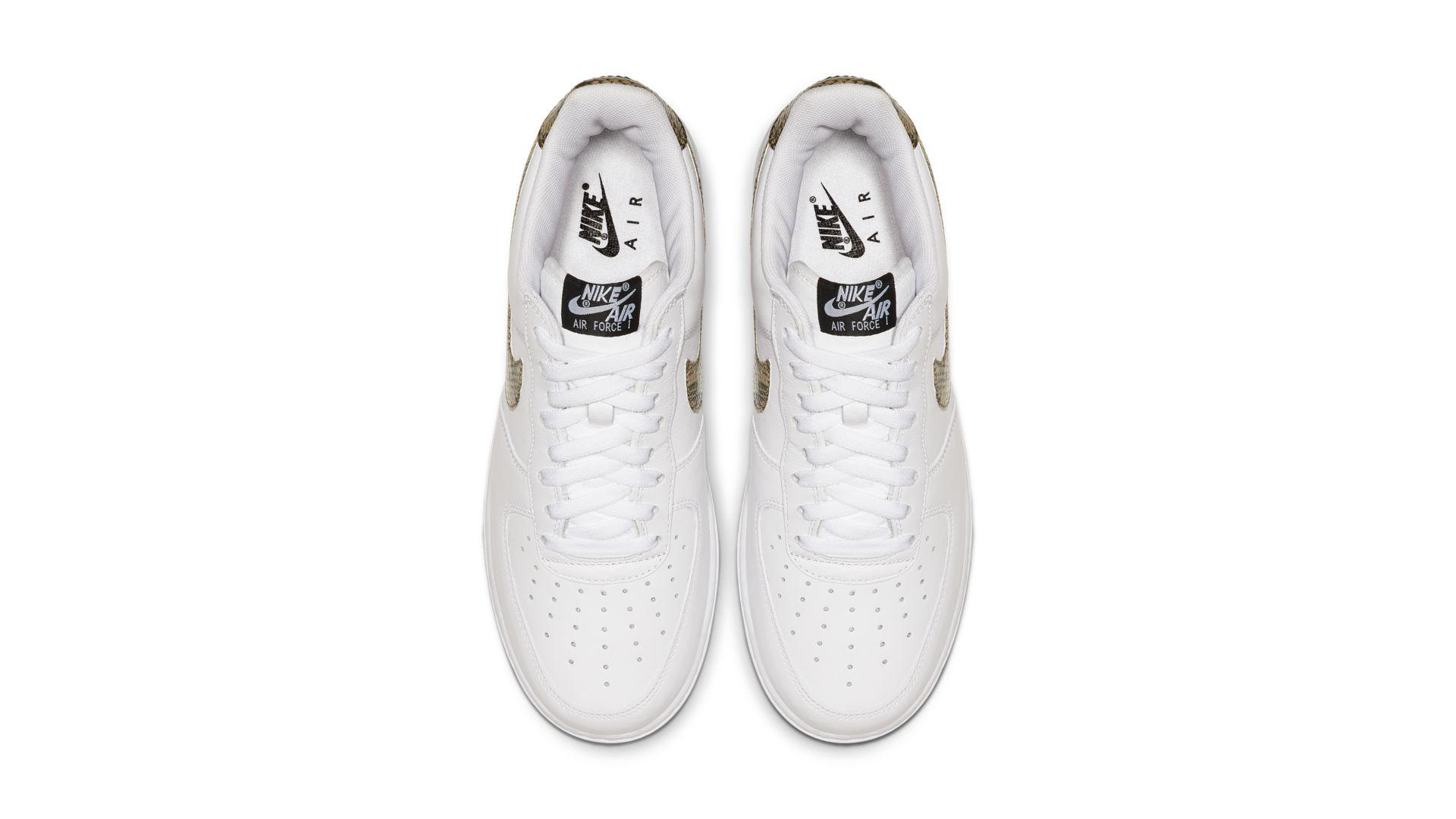 Nike Air Force 1 Low Premium QS 'Snake' (AO1635-100)