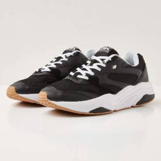 British Knights atom heren sneakers laag – zwart – maat 40 (zwart)