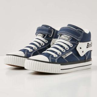 78f82c0d590 British Knights roco jongetjes sneakers hoog – donker blauw – maat 32  (blauw)