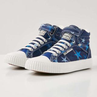 eca5eac2a44 British Knights dee jongetjes sneakers hoog – donker blauw – maat 32 ...