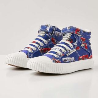British Knights dee jongetjes sneakers hoog - blauw - maat 28 (blauw)