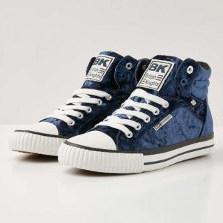 British Knights dee dames sneakers hoog - donker blauw - maat 36 (blauw)