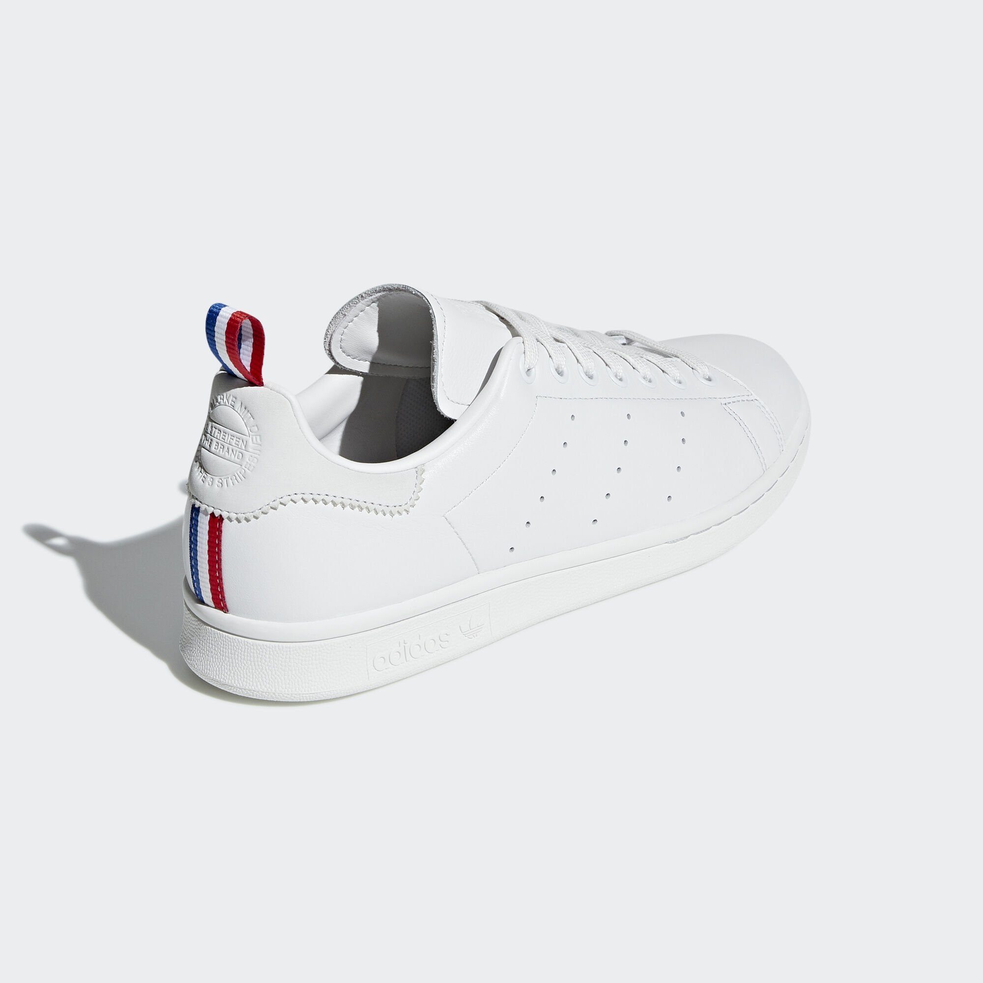 Adidas Stan Smith Crystal White / Ftwr White / Scarlet (BD7433)