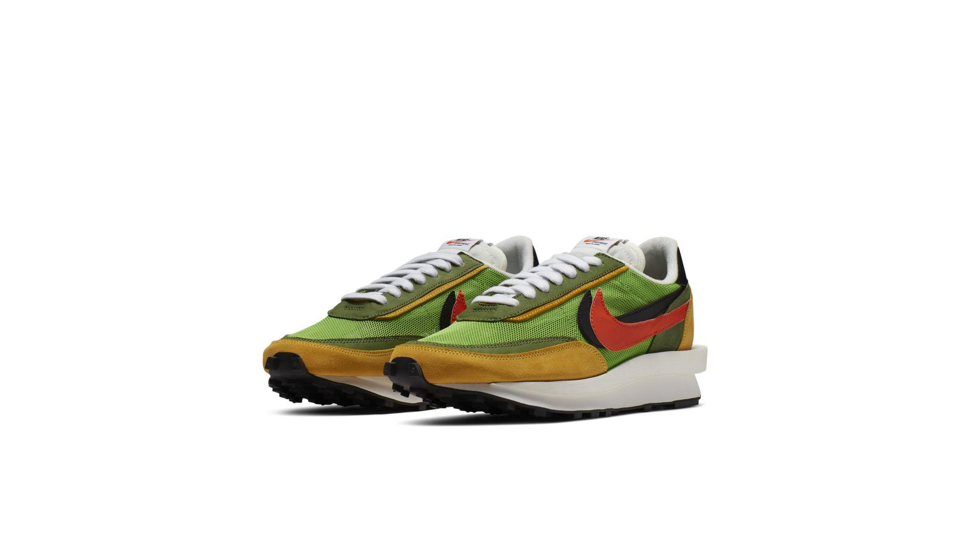 Sacai X Nike LDV Waffle 'Green' (BV0073-300)