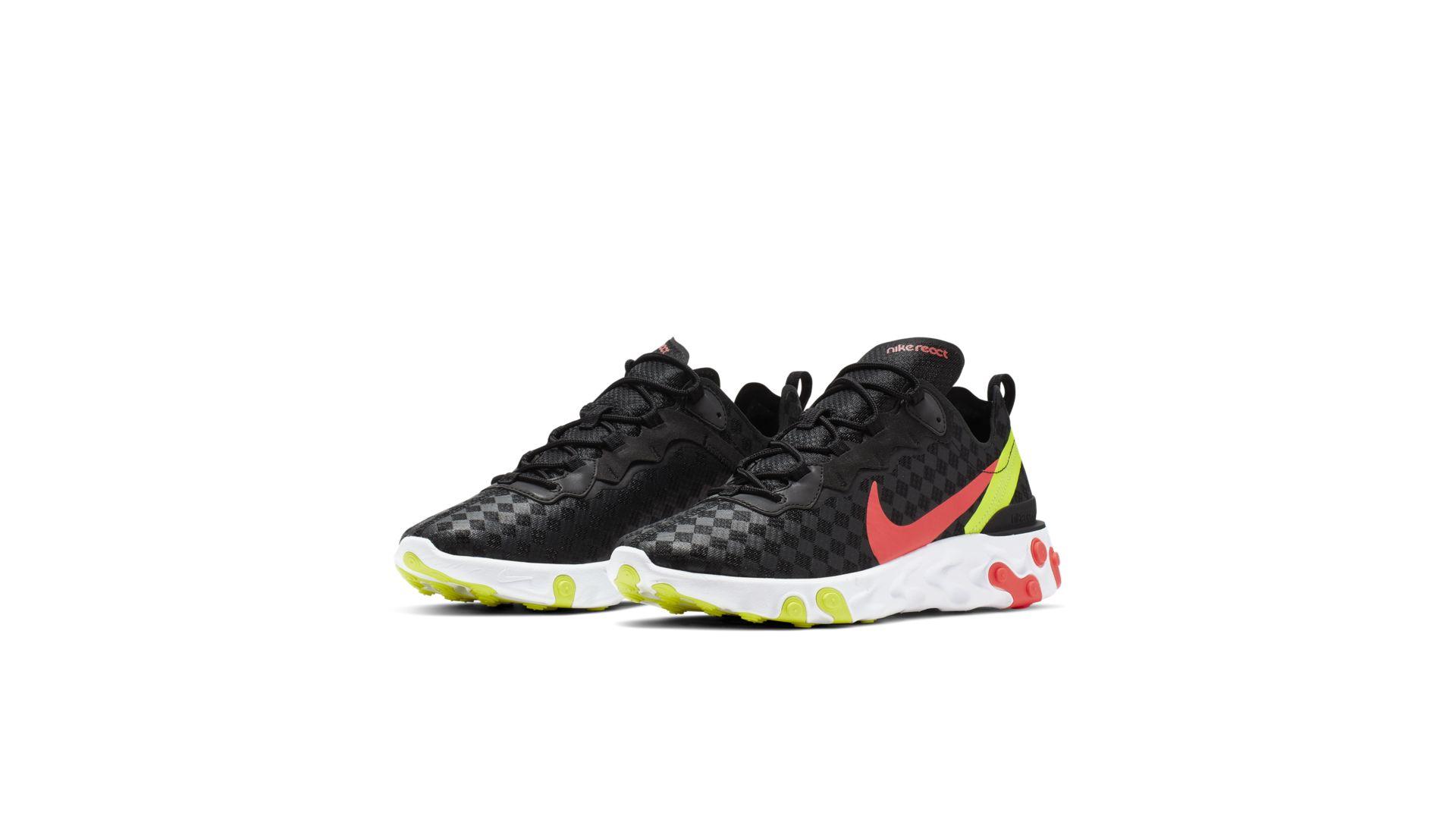 Nike React Element 55 'Flash Crimson' (CJ0782-001)