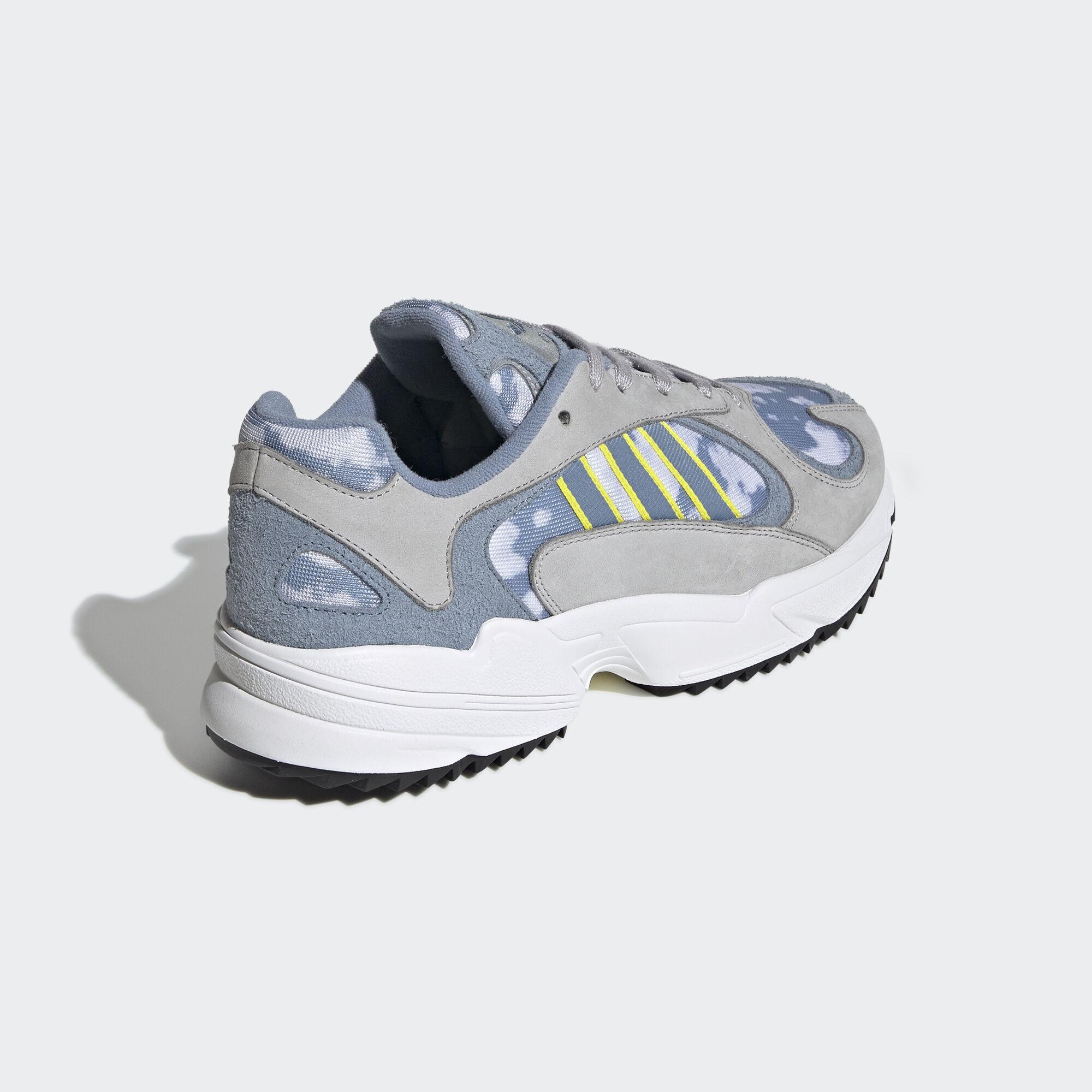 Adidas Yung-1 Grey Two / Raw Grey / Shock Yellow (EF2778)