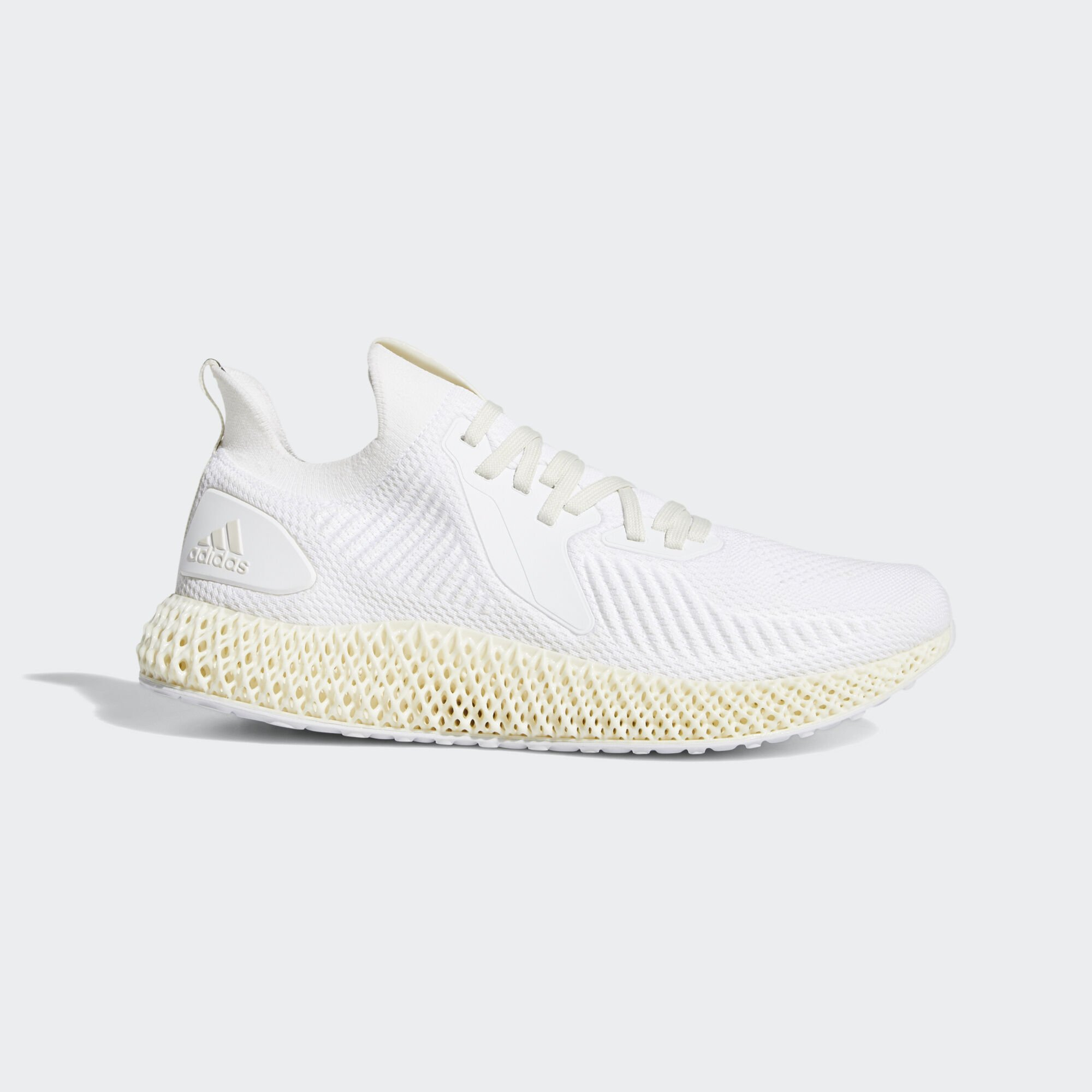 Adidas Alphaedge 4D Ftwr White Off White Pearl Grey (EF3455)
