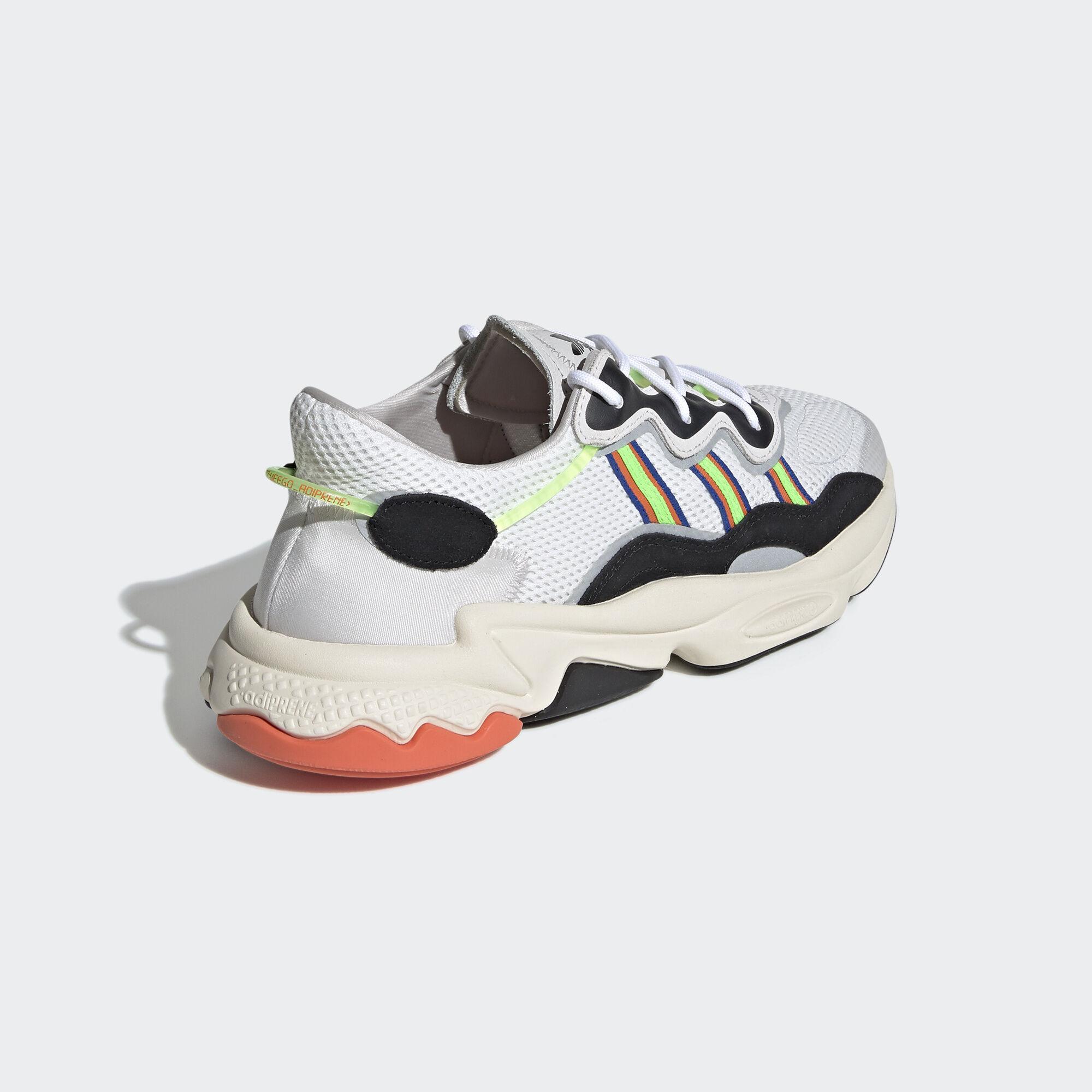 Adidas Originals Ozweego Cloud WhiteSolar GreenCloud White